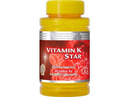 VITAMIN K STAR, 60 tbl - stav kostí