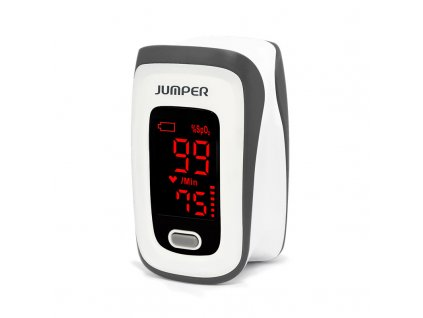 Pulzní OXYMETR Jumper na měření kyslíku a pulsu