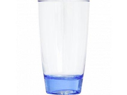 WATER CUP PLASTIC, 450 ml, BLUE, 1 pcs -