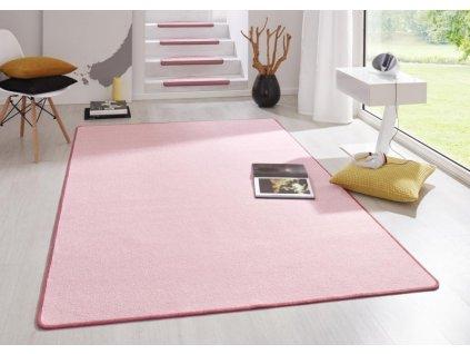 Hanse Home Collection koberce AKCE: 80x200 cm Kusový koberec Fancy 103010 Rosa - růžový - 80x200 cm