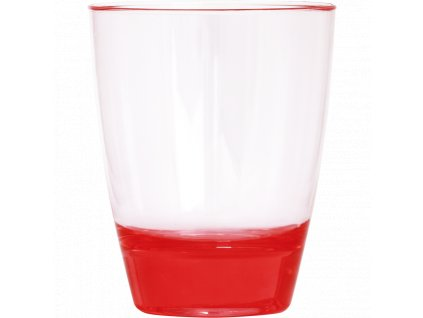WATER CUP PLASTIC, 350 ml, PINK, 1 pcs -