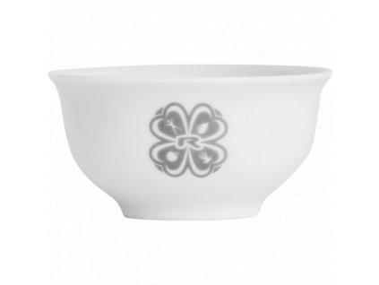 CUP TEA, 50 ml, WHITE CERAMIC, 1 pcs -