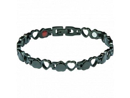 Bracelet BARBARA black, 1 pcs - Elegantní magnetický náramek