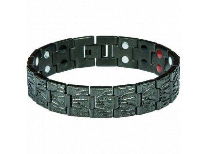 Bracelet ALEX black, 1 pcs - Elegantní magnetický náramek