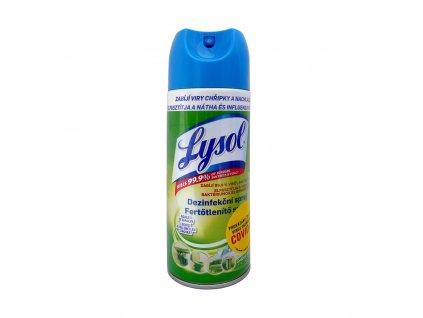 Lysol (ČR) LYSOL Dezinfekční sprej 400ml Lysol vůně: Svěžest vodopádu (zelený)