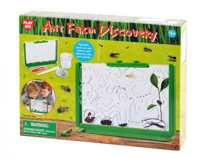 Mravenčí farma 21,5x15cm s doplňky v krabičce