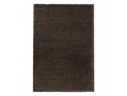 Ayyildiz koberce AKCE: 80x250 cm Kusový koberec Fluffy Shaggy 3500 brown - 80x250 cm