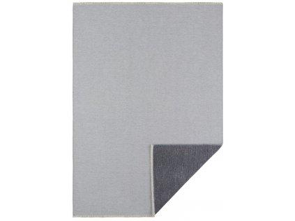 Hanse Home Collection koberce AKCE: 80x150 cm Kusový koberec Duo 104460 Lightgrey - Anthracite - 80x150 cm