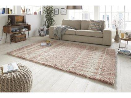 Mint Rugs - Hanse Home koberce AKCE: 160x230 cm Kusový koberec Allure 102767 rosa - 160x230 cm