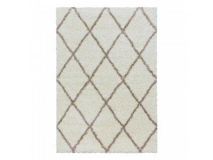 Ayyildiz koberce AKCE: 240x340 cm Kusový koberec Alvor Shaggy 3401 cream - 240x340 cm