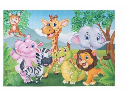 Obsession koberce AKCE: 80x120 cm Dětský kusový koberec Torino kids 239 JUNGLE - 80x120 cm