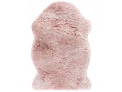 Obsession koberce AKCE: 55x85 tvar kožešiny cm Kusový koberec Samba 495 Powderpink (tvar kožešiny) - 55x85 tvar kožešiny cm