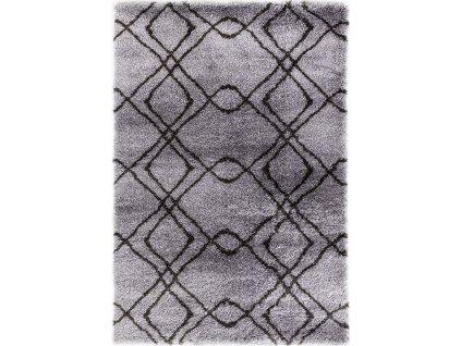 Festival koberce AKCE: 120x170 cm Kusový koberec Carmella K11608-01 Light Grey Dark Grey (Pearl 510 L.Grey/D.Grey) - 120x170 cm