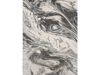 Berfin Dywany AKCE: 160x230 cm Kusový koberec Vals 8003 Grey - 160x230 cm