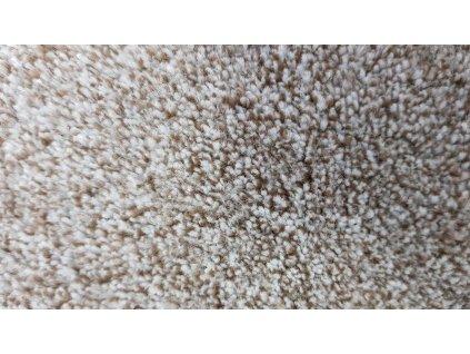 Vopi koberce AKCE: 70x140 cm Metrážový koberec Apollo Soft béžový - Rozměr na míru s obšitím cm