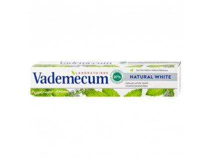 Vademecum zubní pasta Natural White 75 ml