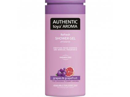 Authentic Toya Aroma Grapes & Grapefruit sprchový gel 400 ml