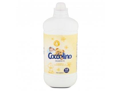 Coccolino aviváž Sensitive Cashmere & Almond , 58 praní 1,45 l