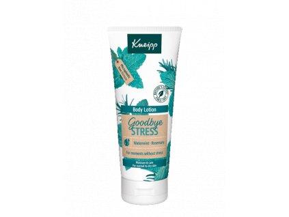 Kneipp Goodbye Stress pečující tělové mléko 200 ml