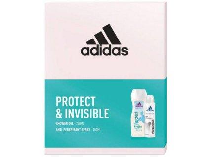 Adidas Invisible Protect dárková sada 2 ks