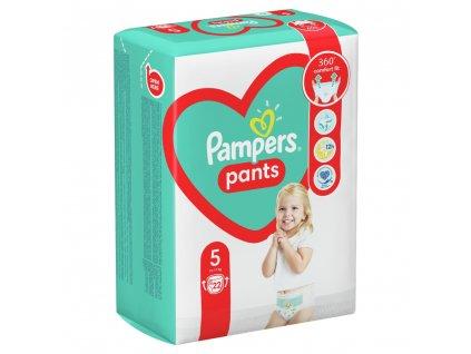 Plenkové Kalhotky Pampers Pants Velikost 5 12kg-17kg 22 ks
