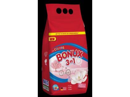 Bonux Color prací prášek Pure Magnolia, 80 praní 6 kg