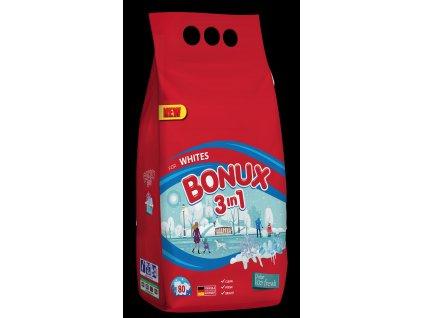 Bonux White prací prášek Polar Ice Fresh, 80 praní 6 kg