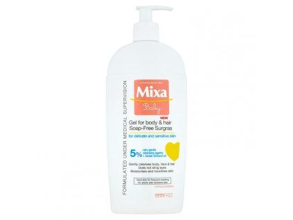Mixa Baby mycí gel na tělo a vlásky 400 ml