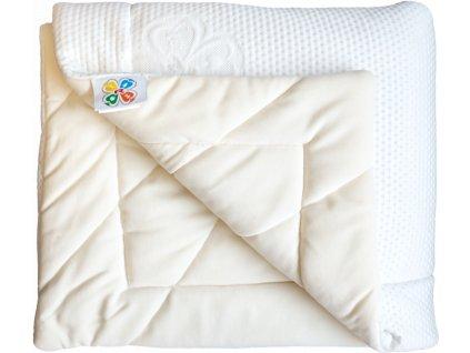 NICKY/SILVER-ALOE, 135 × 195 cm, 1 pcs - zdravý spánek – přikrývka.