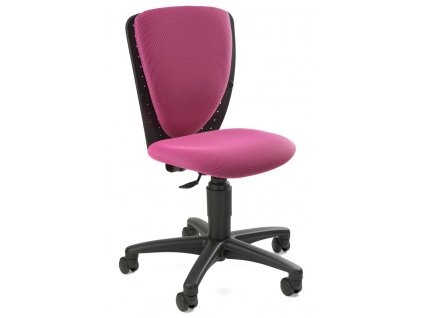 růžová židle