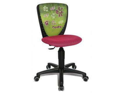 židle kytky