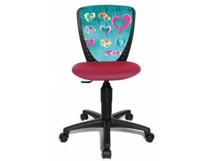 srdce židle