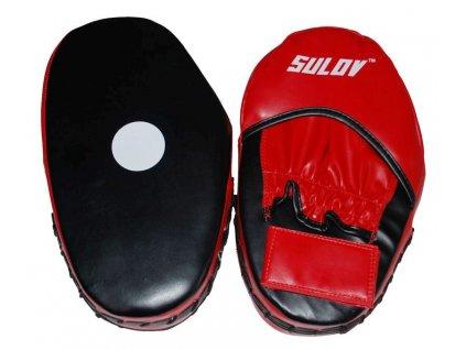 Box lapa rovná SULOV DX, pár, černo-červená