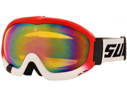 Brýle sjezdové SULOV FREE, dvojsklo, červené