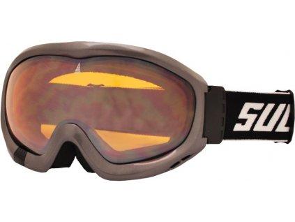 Brýle sjezdové SULOV FREE, dvojsklo, šedé
