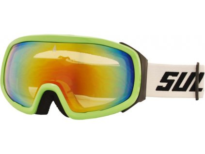 Brýle sjezdové SULOV PRO, dvojsklo revo, zelené