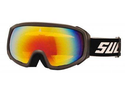 Brýle sjezdové SULOV PRO, dvojsklo revo, carbon