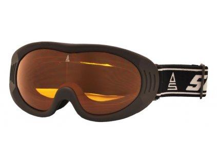 Brýle sjezdové SULOV RIPE, černá mat
