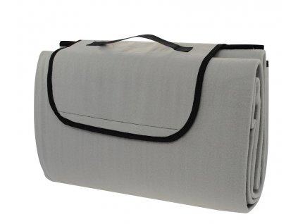 Pikniková deka CALTER STADY, 170x150 cm, šedá