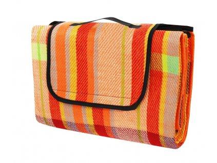 Pikniková deka CALTER PARTY, 200x150 cm, barevný proužek