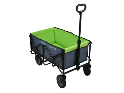 Přepravní skládací vozík CALTER, zelený