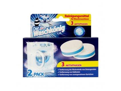 Waschkönig (Německo) WASCHKÖNIG Tablety na čištění pračky 2ks