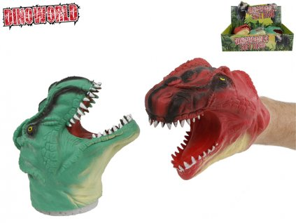 Dinosaurus/maňásek 14cm 2barvy 12ks v DBX