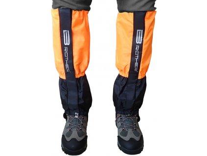 Acra ACRA LTH2/2 Turistický návlek komfortní černo oranžový - 1 pár oranžová