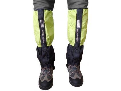 Acra ACRA LTH2/1 Turistický návlek komfortní černo zelený - 1 pár zelená
