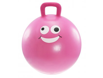 Dětský skákací míč LIFEFIT JUMPING BALL 45 cm, růžový
