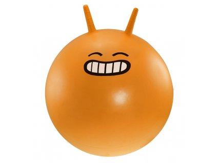 Dětský skákací míč LIFEFIT JUMPING BALL 45 cm, oranžový
