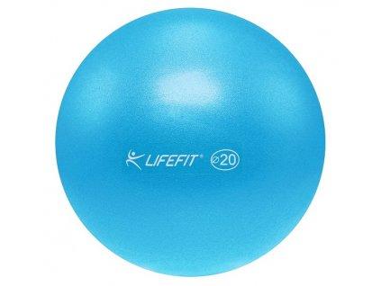 Míč OVERBALL LIFEFIT 20cm, světle modrý