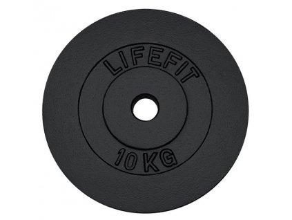 Kotouč LIFEFIT 10kg, kovový, pro 30mm tyč