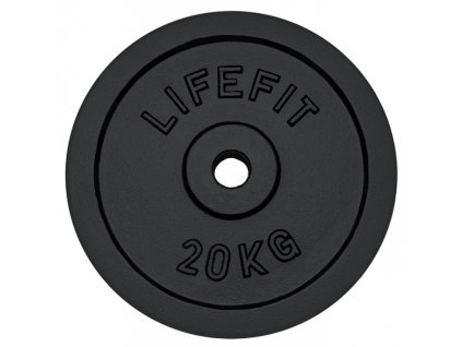 Kotouč LIFEFIT 20kg, kovový, pro 30mm tyč